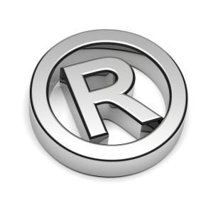 Trademark Chrome Sign